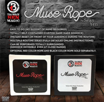 Muse Rope (Zwart) by Sean Yen
