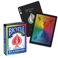 Bicycle Rainbow deck zwart