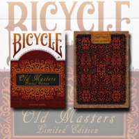 Bicycle Old Masters numbered limited edition