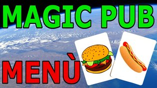 Magic Pub menu