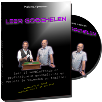Leer Goochelen DVD - Magicshop