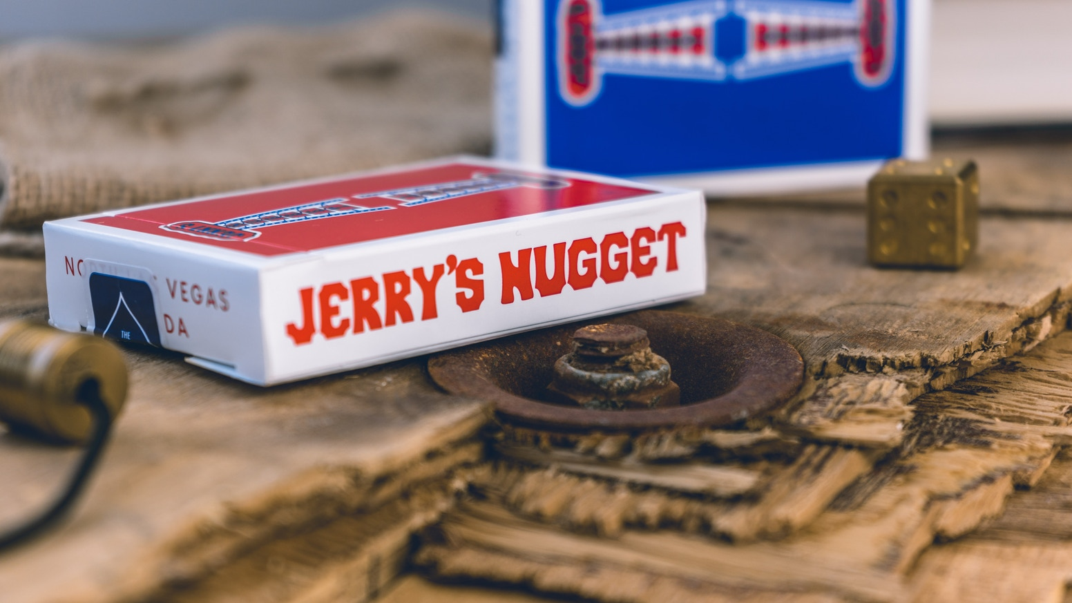 Jerry Nuggets speelkaarten
