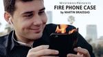 Fire Phone Case by Martin Braessas