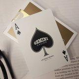Gemini Casino Gold Playing Cards