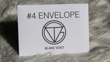Number 4 Envelope by Blake Vogt