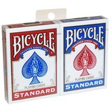 Bicycle rider back poker duo pack