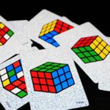 Magic Rubiks Card