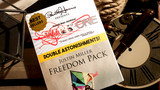 Warp One/Freedom Pack Double Astonishments by Justin Miller & David Jenkins