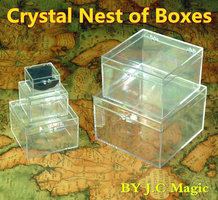 Crystal nest of boxes