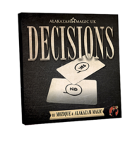 Decisions Blank Edition (DVD and Gimmick) by Mozique
