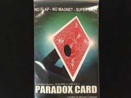 Paradox card, Mickael Chatelain.