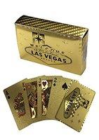 Gouden speelkaarten las vegas