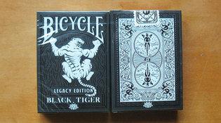 Bicycle Black tiger Legacy speelkaarten
