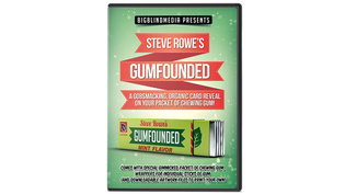 GUMFOUNDED (DVD and Gimmick) by Steve Rowe