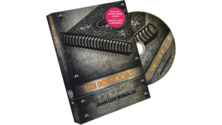 Sale-item: The Bound Deck DVD and Gimmick (Red) by Juan Luis Rubiales and Luis de Matos - DVD
