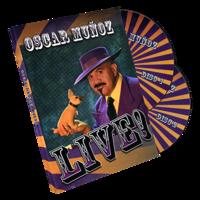 Sale-item: Oscar Munoz Live (2 DVD Set) by Kozmomagic - DVD