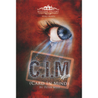 Sale-item: The Card In Mind System (DVD & Gimmicks) by Peter West - DVD