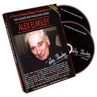 Sale-item: Alex Elmsley (2 DVD Set) Signature Magicians Series - DVD