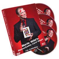 Sale-item: Remarkable Card Magic (3 DVD Set) by Boris Wild - DVD