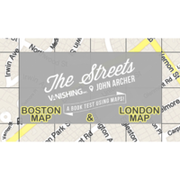 Sale-item: The Streets Set (Boston and London Map) by John Archer and Vanishing Inc. - Trick