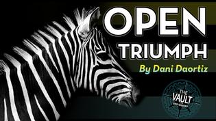 The Vault - Open Triumph by Dani DaOrtiz video DOWNLOAD