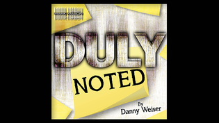 Duly Noted by Danny Weiser