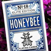 Honeybee Elite Blue playing cards