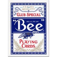 Bee cards poker blauw
