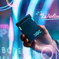 NOC 3000X1 (DARK) speelkaarten