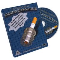 Cigarette Thr Quarter DVD + gimmick