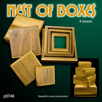 Nest of Boxes WOOD