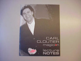 Carl Cloutier lect. notes