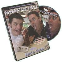 Sale item:Razor Blade Magic by Byrd & Coats - DVD