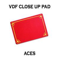 VDF Close up mat Rood kaartsymbool
