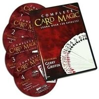 Complete card magic dvd set