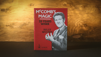McComb's Magic 25 Years Wiser boek (Limited)