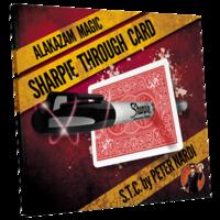 Sharpie Through Card - S.T.C. rood
