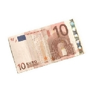 Flash bankbiljet 10 euro