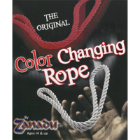 Amazing Color Changing Rope (rood naar wit) by Zanadu