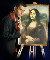 Mona Lisa 2 by Sagiv Levy