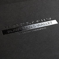Blind Man's wallet - Menny Lindenfeld