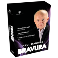 Bravura - Paul Daniels DVD box