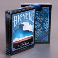 Bicycle Natural Disasters  Tsunami  Playing Cards