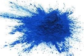 Kleurpoeder - kleurstof blauw