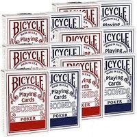 Bicycle rider poker SECONDS doos van 12