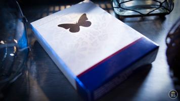 Butterfly Playing Cards Marked (Blue) by Ondrej Psenicka