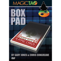 Box Pad DVD and Gimmick by Gary Jones and Chris Congreave