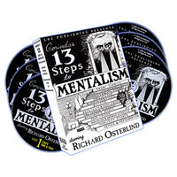 13 Steps To Mentalism (DVD-set)