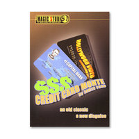 Credit Card Monte by James Ford & Magic Studio 51 - Trick