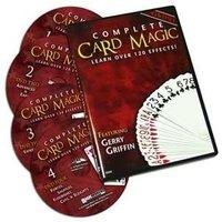 Complete card magic dvd set